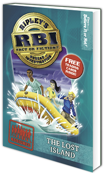 RBI Series - Book 8: The Lost Island